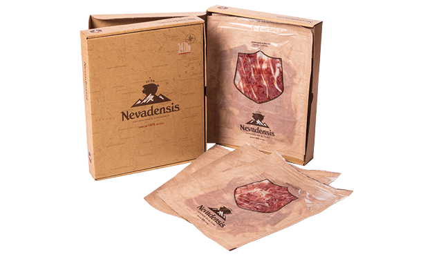 Hand-sliced Serranoham from Trevélez made by Nevadensis