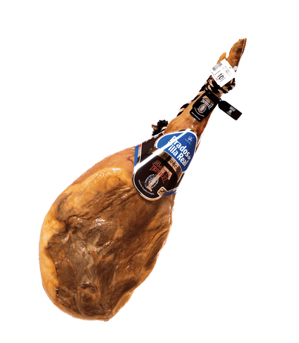 Serrano Ham with Protected Geografical Indication Trevélez and more than 2 years natural curing time