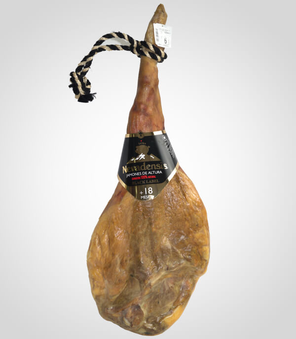 Ham Nevadensis Black Label from Trevélez 18 Months