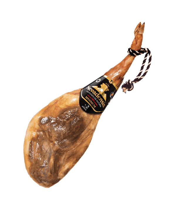 Serrano Ham Nevadensis Maximum from the Alpujarra with more than 24 Months Natural Curing